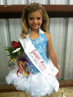 Chloe Tisdale Junior Miss Hell Hole 2011