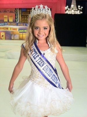 Chloe Tisdale little Miss teen United States World