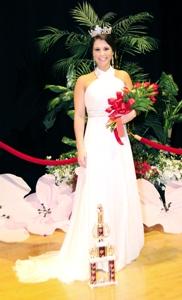 Maria Jo Adams, Fayetteville Dogwood Festival Queen