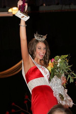 Megan Everette Miss Greater Wilmington 2011 Pageant