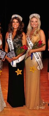 Olivia Olvera and Grace Spears Miss North Charleston and Miss Charleston USA 2011 Pageant