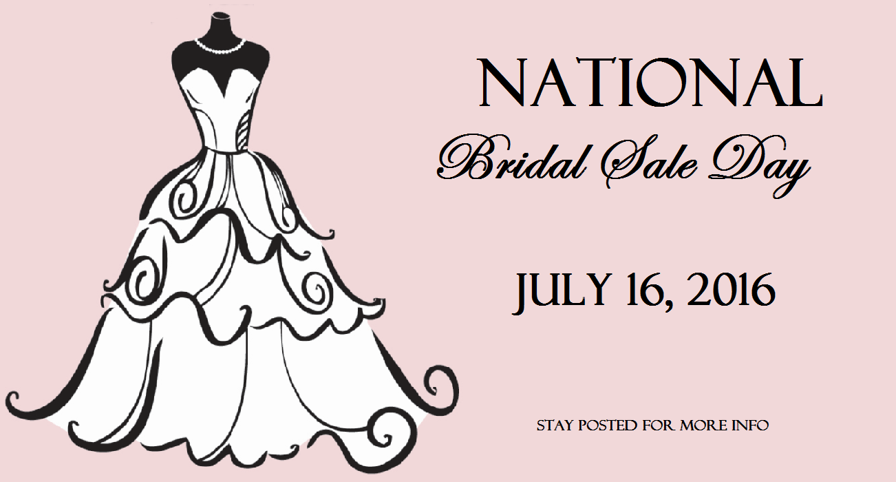 national bridal sale day 2016