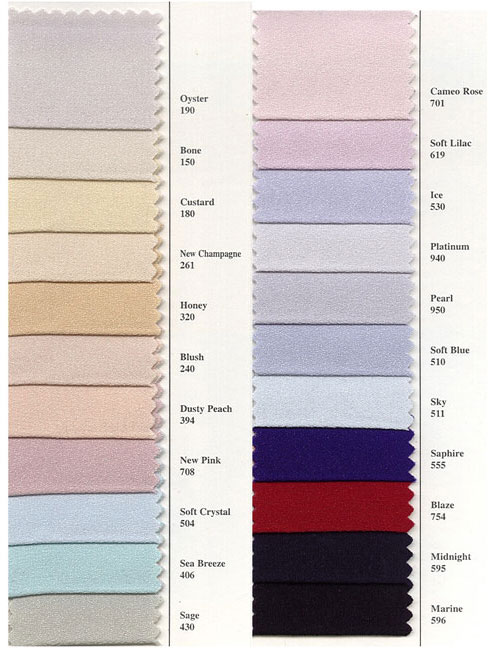Daymor Swatches Jan S Boutique Over 10 000 Gowns In Stock