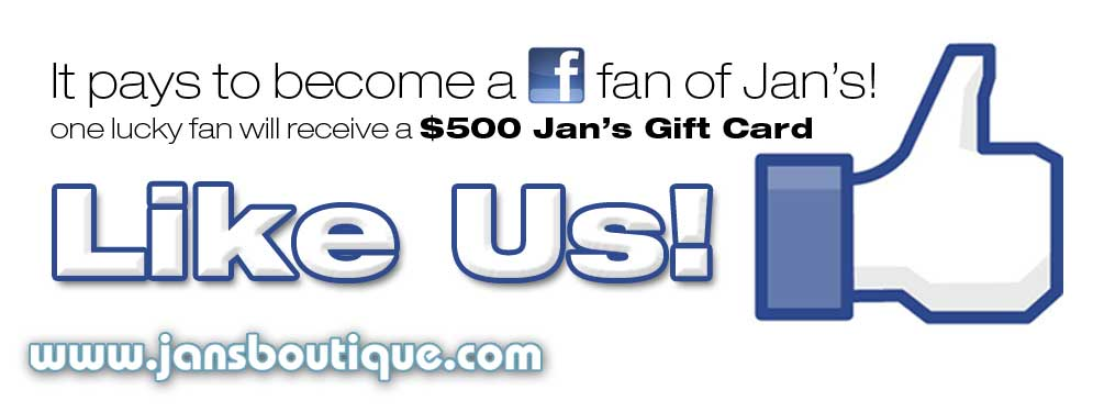 Jan's Boutique Facebook Page