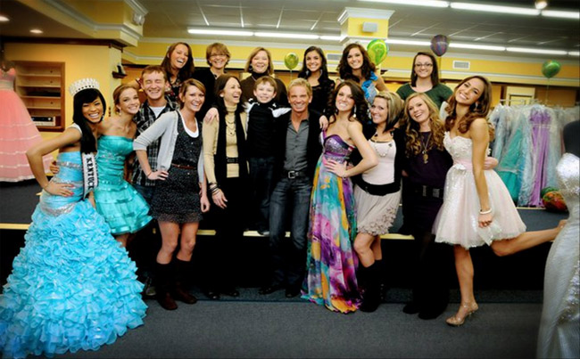 Our Staff with Tony Bowls