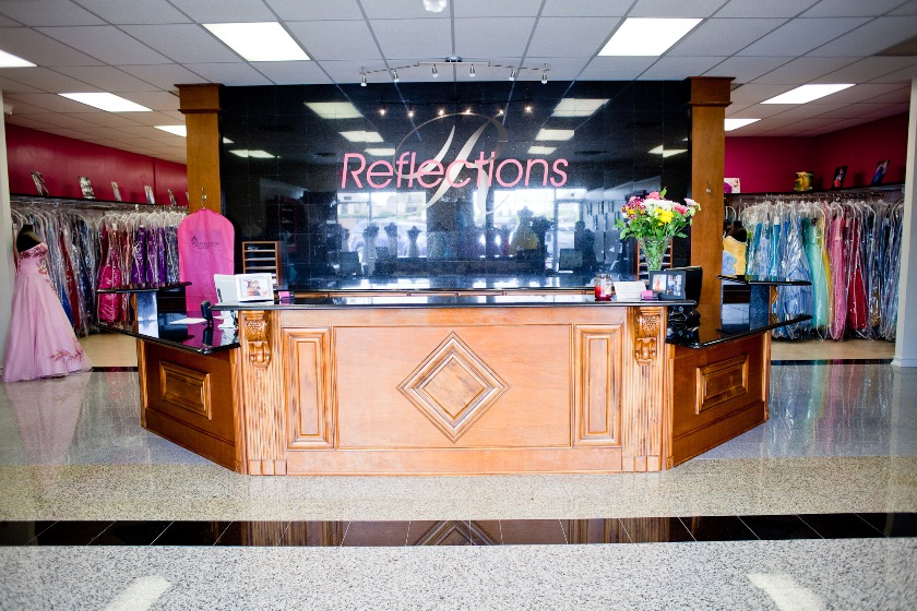 Store Front Reception Area