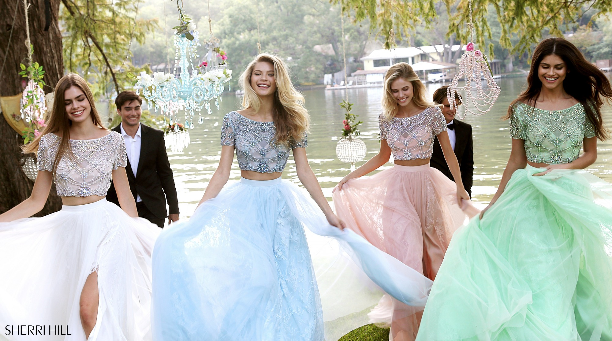 Elegant prom cocktail dresses