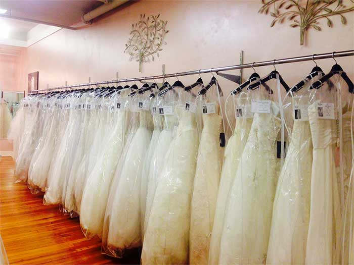 wedding dress selection
