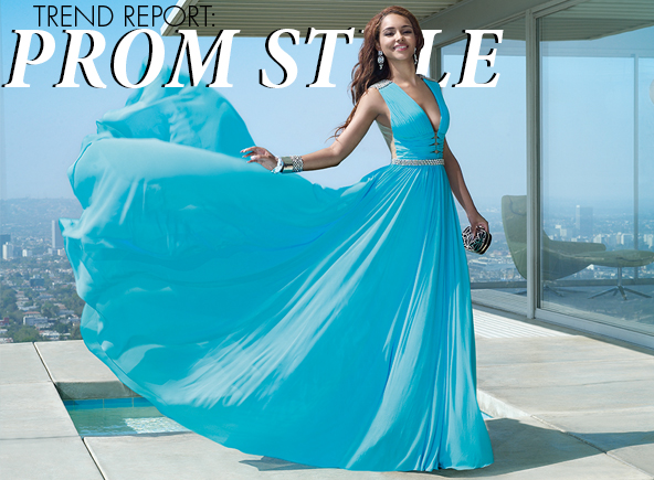 Prom dress trends: information for