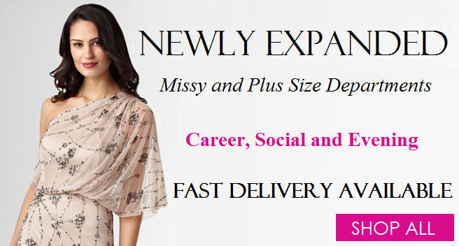 missy and plus size department newly expanded