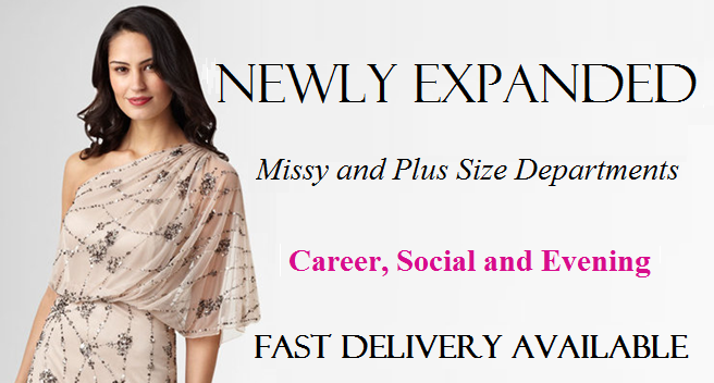 Missy and Plus Size New Dresses