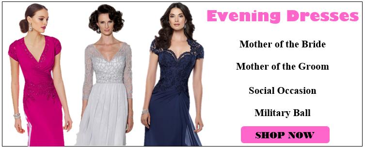 Shop Evening Dresses Now