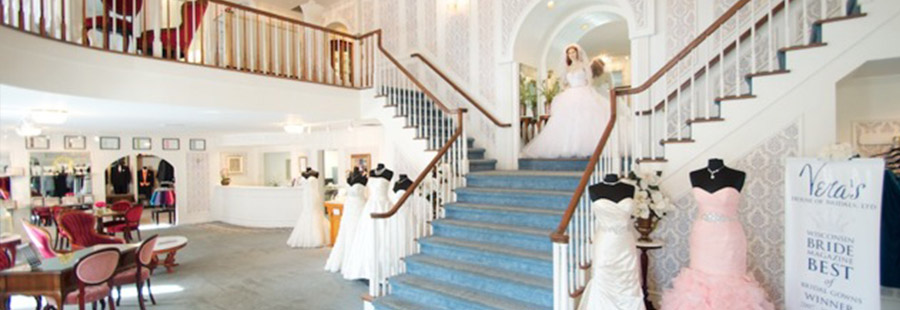 Inside Vera's House of Bridals