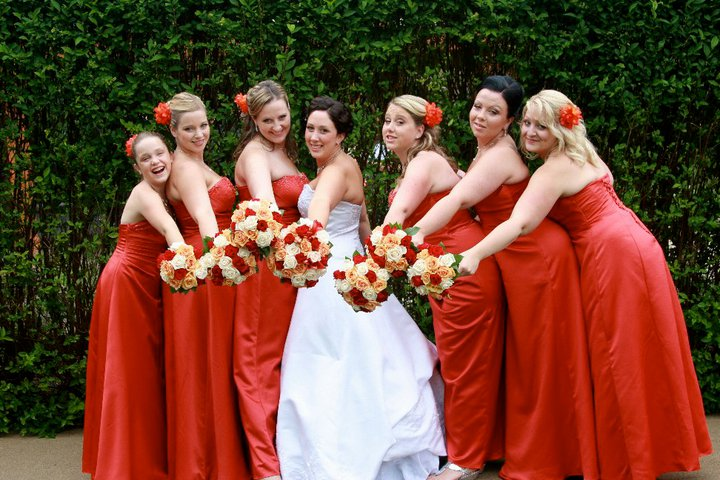 Holly's bridal Party