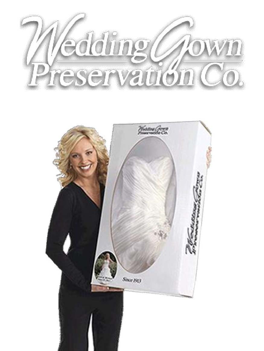 Gown preservation celebrations for Wedding dress preservation company