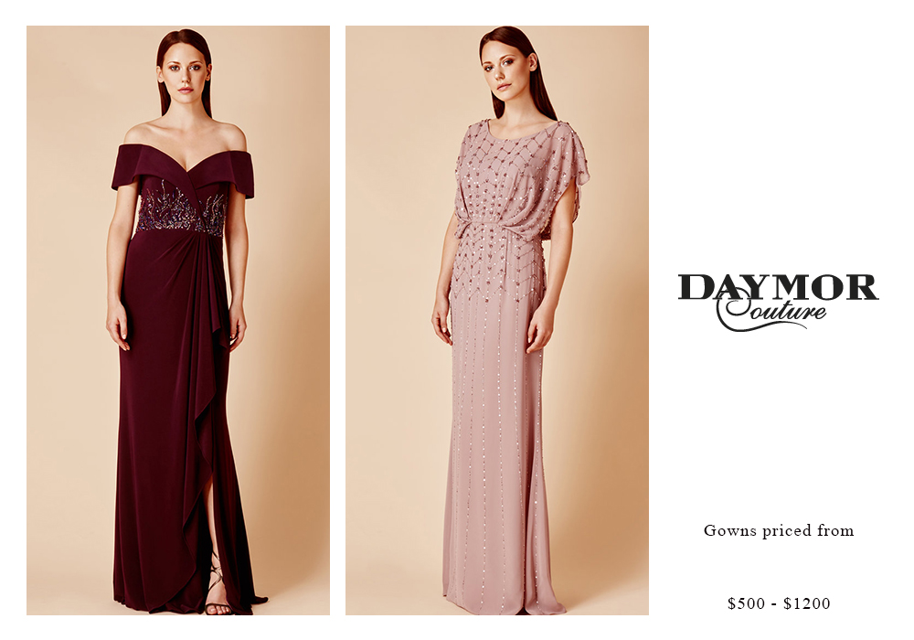 Daymor Gowns Priced $500 - $1200