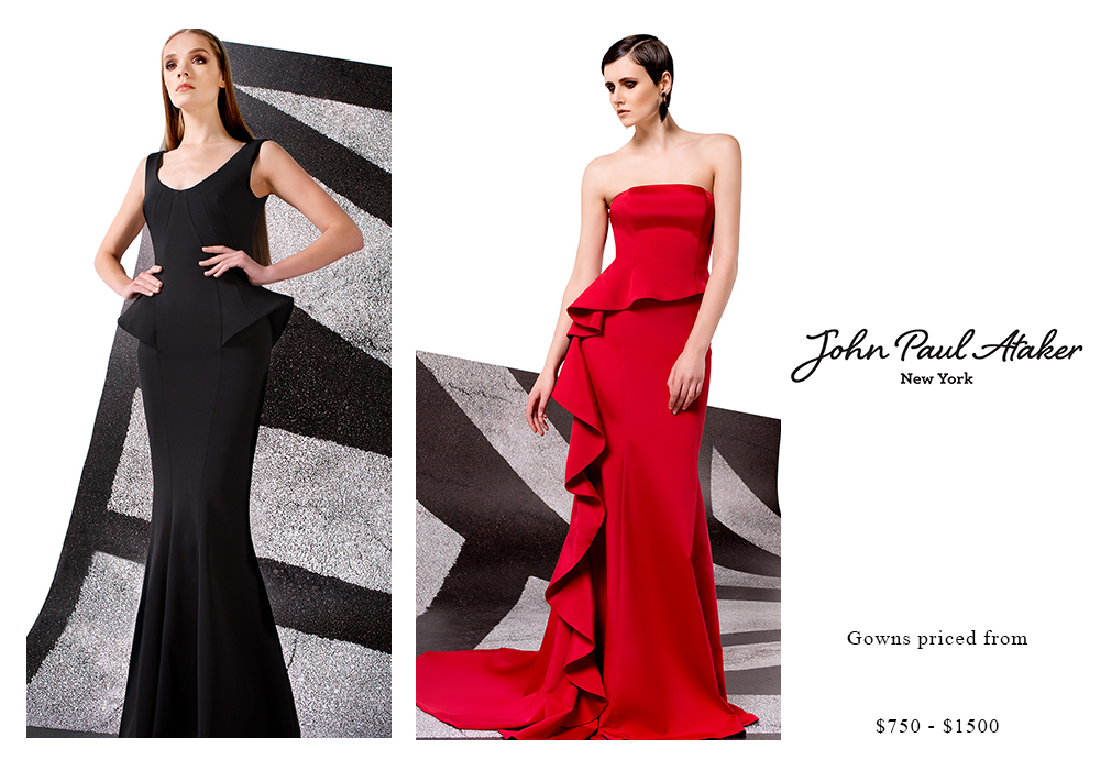 John Paul Ataker Gowns Priced from $750 - $1500
