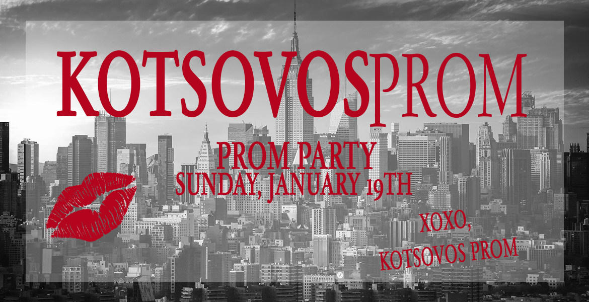 prom party banner