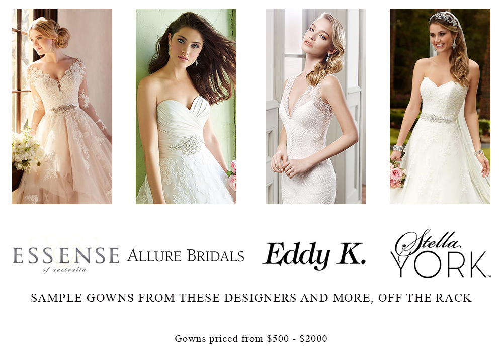 Sample Bridal Gowns