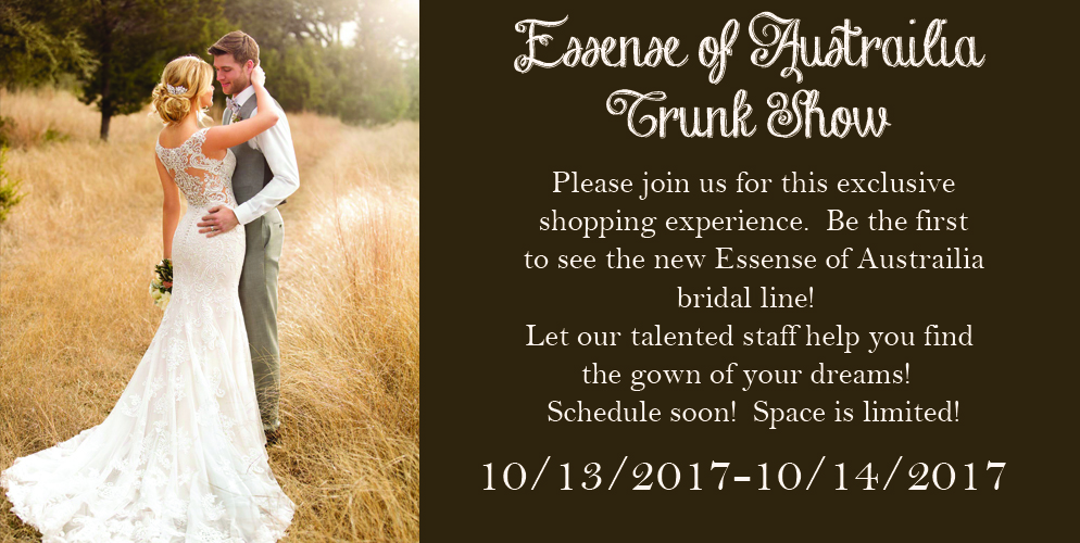essense trunk show