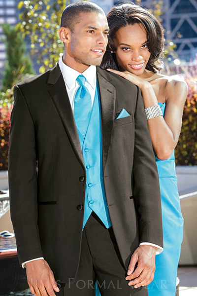 Turquoise and White Prom Tuxedos _Prom Dresses_dressesss