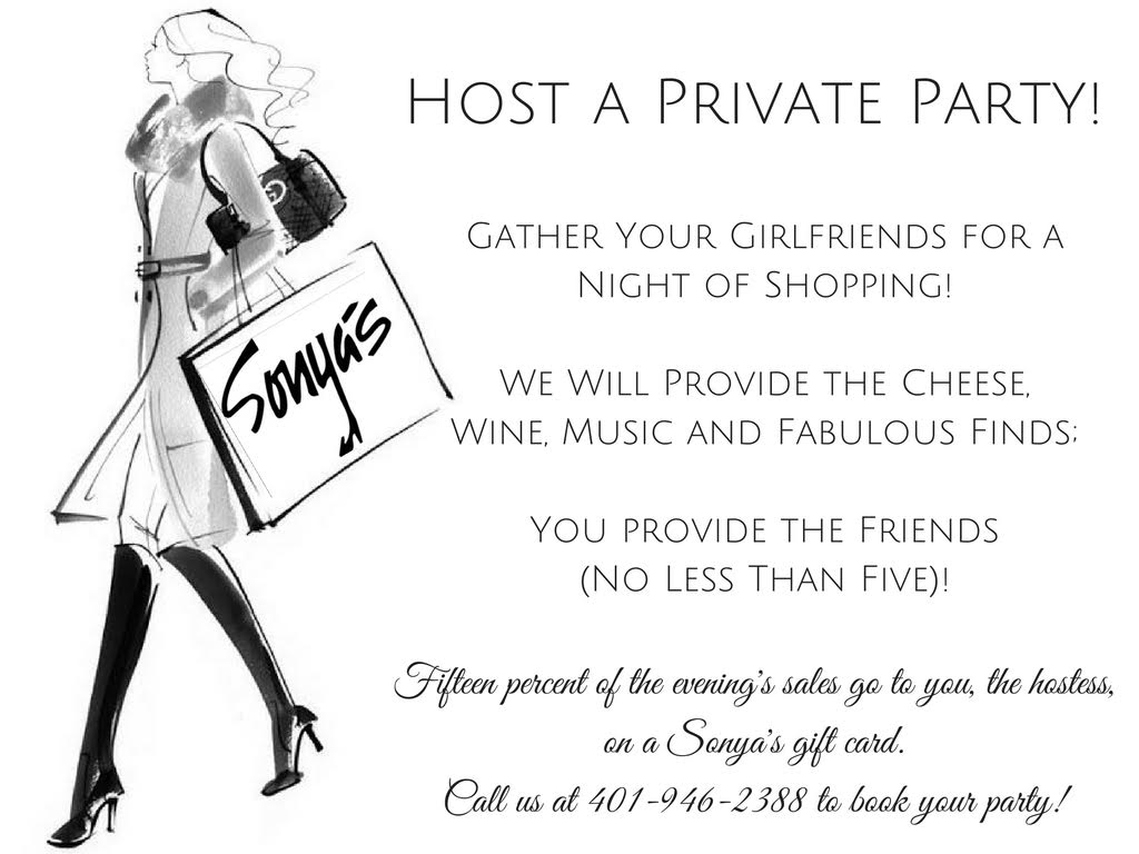 Host a Private Party